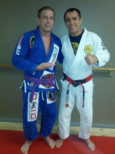 With Master Royler Gracie at Humaita, CLE