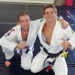 My first private with AJ Agazarm.