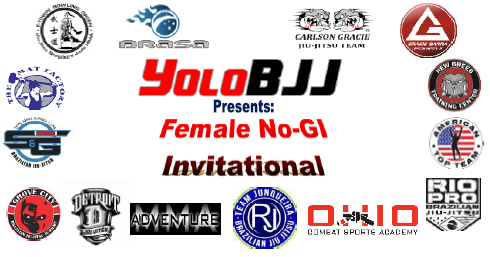 YoloBJJ is Sponsoring our first Professional Women's Jiu-Jitsu event, Sept. 12