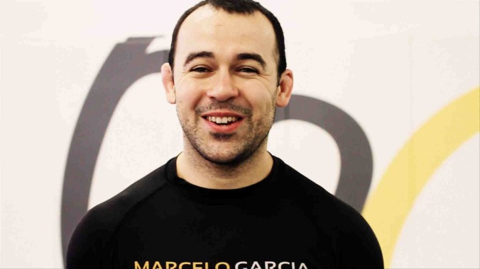 """I don't feel like it helped my JiuJitsu even one inch!"" Marcelo Garcia when asked about weight training."