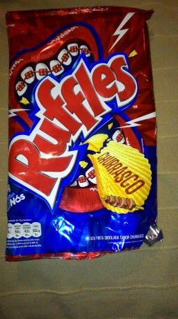Ruffles official, Grilled Meat flavor!