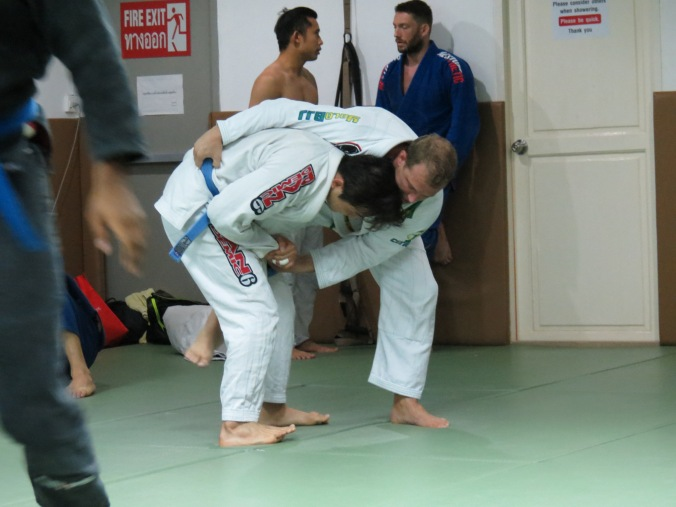 Working the sick Judo counter to a single leg!