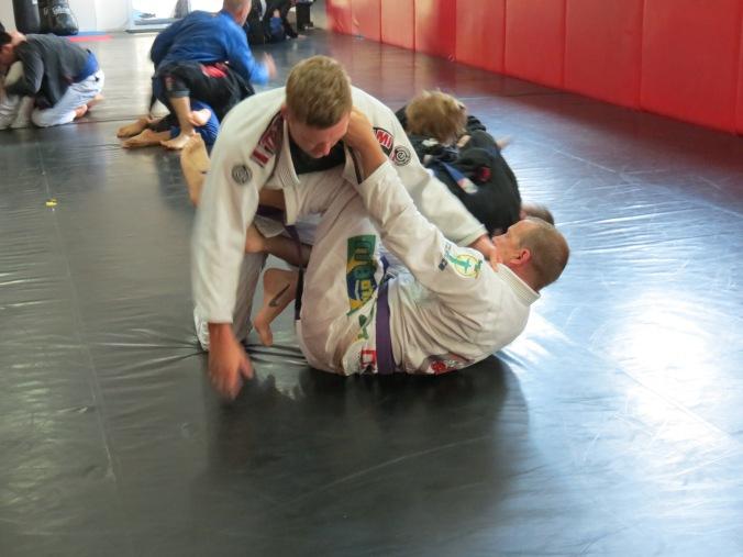 Jerrod took my stripe in this match :-(