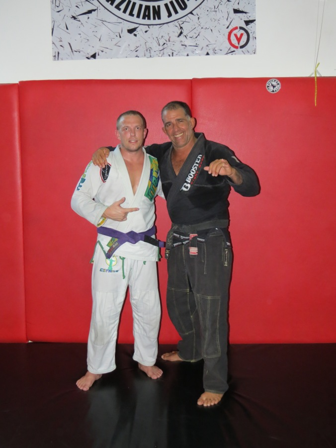 An Honor to train under Professor Abreau!