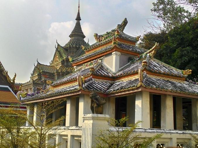 A gorgeous sanctuary at temple Wat Pho.