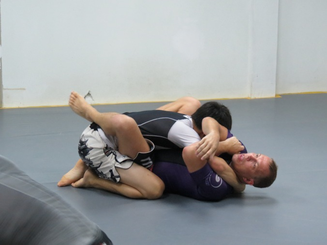 "One of my ""Go-to"" armbars...which I didn't land against Cheng, BTW...."