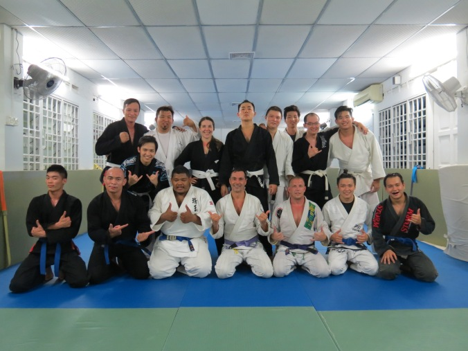 Great group of folks at Budo Academy, Penang Malaysia!