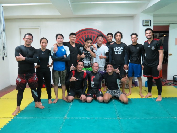 Deftac, Cebu City. These guys train hard! And love it!