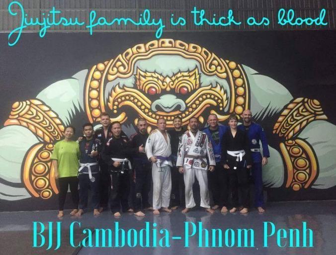 Ivan Alba gave us a great B&A choke seminar! - Photo credit: BJJ Cambodia