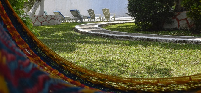 Catch a snooze in one of the hammocks after a swim.