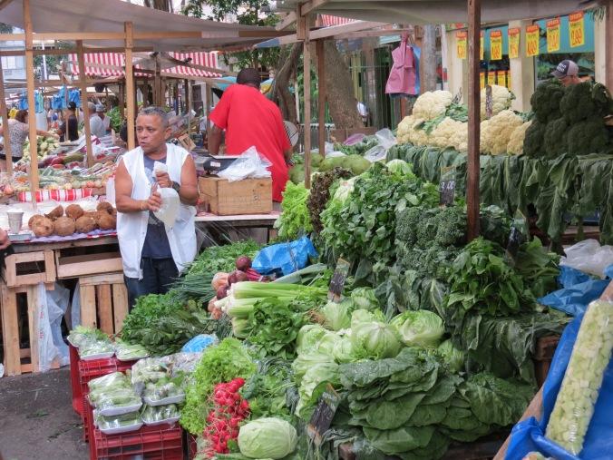 A food market opens up every Thursday on Rua Duvivier between Nossa Senhora and Vivieros de Castro
