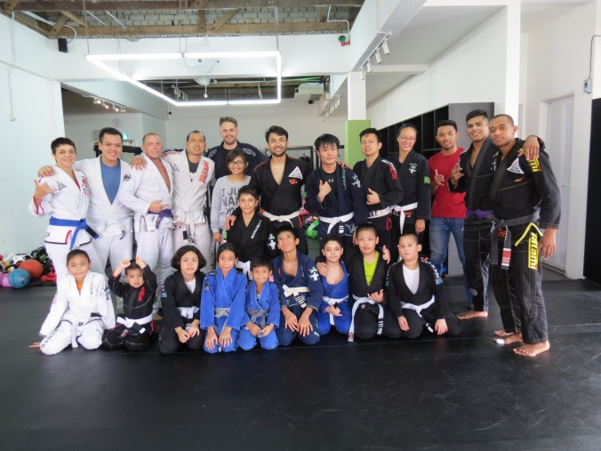 Good size crew for Saturday Open Mat!