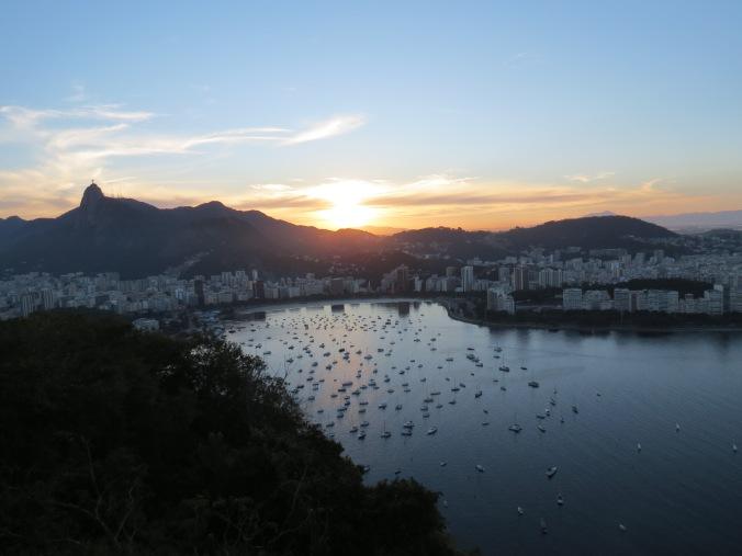 View of Botafogo Bay from Morro de Urca.