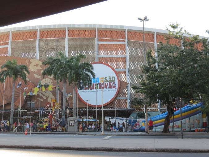 """The """"Festival do Sao Christovao"""" is a giant flea market / cheap goods fair."""