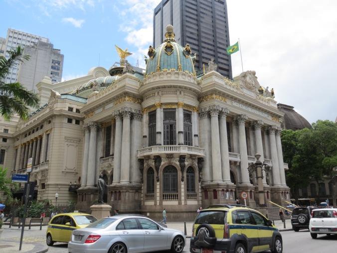 The Municipal Theater is stunning inside an the tour is super cheap!