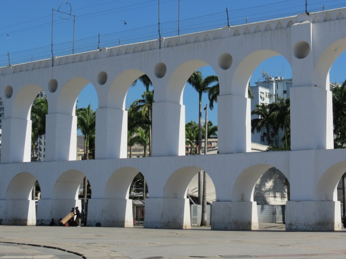 The Arcos de Lapos, in Lapos. Catch it on your walk around downtown.