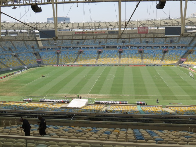 head over to Maracana stadium for a tour and / or a football game.