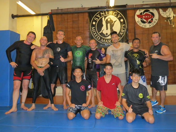 A great couple weeks training with the guys at Synergy BJJ / MMA, Bali!