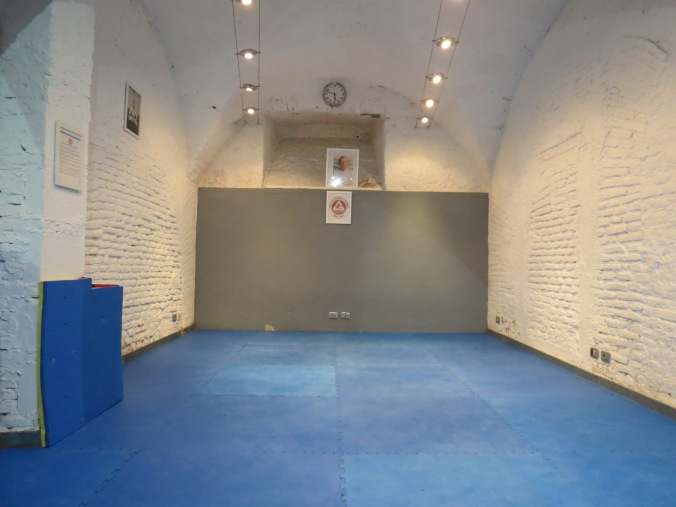 Cool, Barrel-vaulted training space!